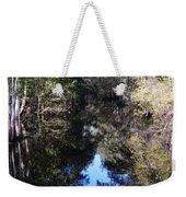 Reflections At Camps Creek  Weekender Tote Bag