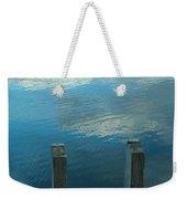 Reflections At Granite Pier Weekender Tote Bag