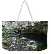 Reflections At The Grotto Weekender Tote Bag
