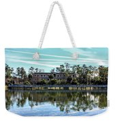 Reflections At The Lake Weekender Tote Bag