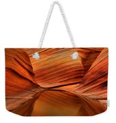 Reflections At The Wave Weekender Tote Bag