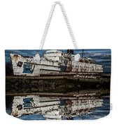 Reflections From The Duke Of Lancaster Ship  Weekender Tote Bag