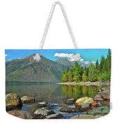 Reflections Glacier National Park  Weekender Tote Bag