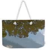 Reflections In A Lake - Poster Edges Weekender Tote Bag