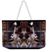 Reflections In A Pharmacy Window Weekender Tote Bag