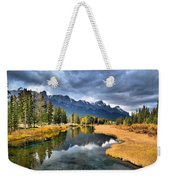 Reflections In Canmore Weekender Tote Bag