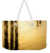 Reflections In Gold Weekender Tote Bag