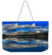 Reflections In Lac Beauvert Weekender Tote Bag