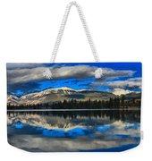 Reflections In Lake Beauvert Weekender Tote Bag