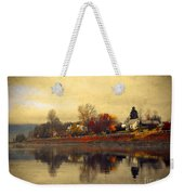 Reflections In Nakusp Weekender Tote Bag