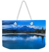 Reflections In The Athabasca Weekender Tote Bag