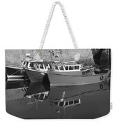 Reflections In The Harbour Weekender Tote Bag
