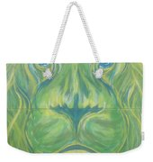 Reflections In The Lions Eyes Weekender Tote Bag