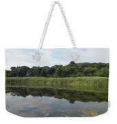 Reflections In The Marsh Weekender Tote Bag