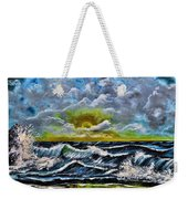Reflections In The Sand Weekender Tote Bag