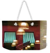 Reflections Light Buildings  Weekender Tote Bag