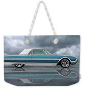 Reflections Of A 1961 Thunderbird Weekender Tote Bag