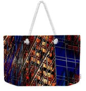 Reflections Of A City 3 Weekender Tote Bag