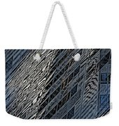 Reflections Of A City 4 Weekender Tote Bag
