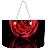 Reflections Of A Red Rose Weekender Tote Bag