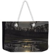 Reflections Of A Super Moon Weekender Tote Bag