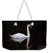 Reflections Of A Swimming Swan Weekender Tote Bag