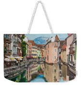 Reflections Of Annecy Weekender Tote Bag