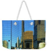 Reflections Of Chicago Weekender Tote Bag