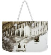Reflections Of Church Weekender Tote Bag
