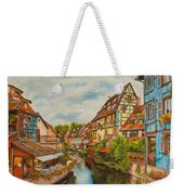 Reflections Of Colmar Weekender Tote Bag by Charlotte Blanchard