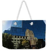 Reflections Of Fort Worth Weekender Tote Bag