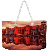 Reflections Of Groningen Weekender Tote Bag