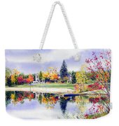 Reflections Of Home Weekender Tote Bag