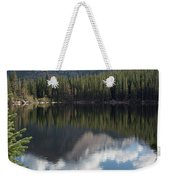 Reflections Of Majestic Mountains Weekender Tote Bag