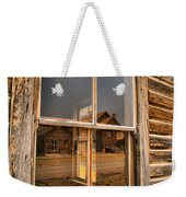 Reflections Of Montana Mining Weekender Tote Bag