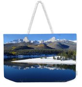 Reflections Of Pikes Peak In Crystal Reservoir Weekender Tote Bag