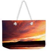Reflections Of Red Sky Weekender Tote Bag