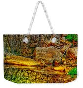 Reflections Of Rock Weekender Tote Bag