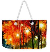 Reflections Of The Night Weekender Tote Bag