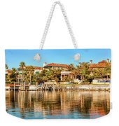 Reflections Of The Rich And Famous Weekender Tote Bag