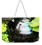 Reflections Of The Space Needle Weekender Tote Bag