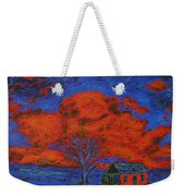Reflections Of The Storm Weekender Tote Bag