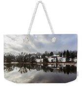 Reflections Of Winter Flood Weekender Tote Bag