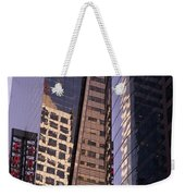 Reflections Off The Buildings Weekender Tote Bag