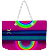 Reflections On A Glass Lake Weekender Tote Bag
