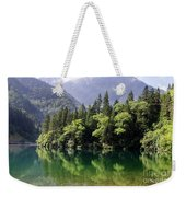 Reflections On Arrow Bamboo Lake Weekender Tote Bag