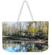 Reflections On Blue Weekender Tote Bag