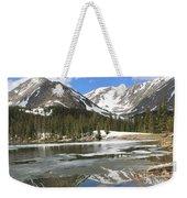 Reflections On Chinns Lake 5 Weekender Tote Bag