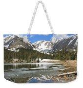 Reflections On Chinns Lake 6 Weekender Tote Bag
