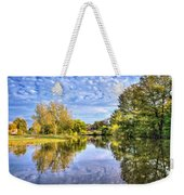 Reflections On Cibolo Creek Weekender Tote Bag